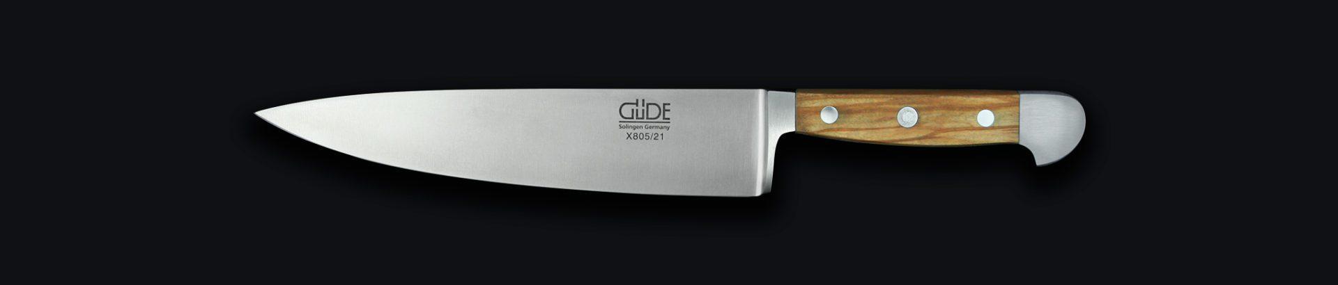 Messer Solingen, Güde Messer, Kochmesser Solingen, Messerset, wetzstahl, solinger messer